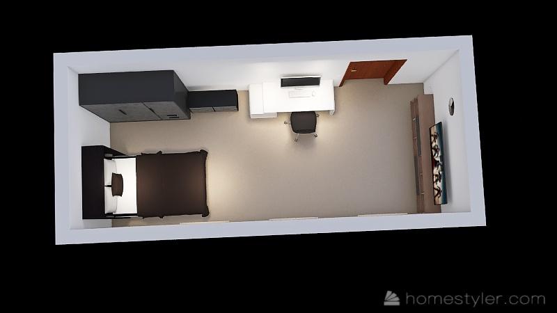 Copy of Mi cuarto Interior Design Render