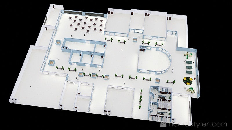 NIVEL 22 Interior Design Render