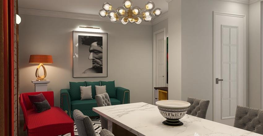 ПАРИЖ Венсен Interior Design Render