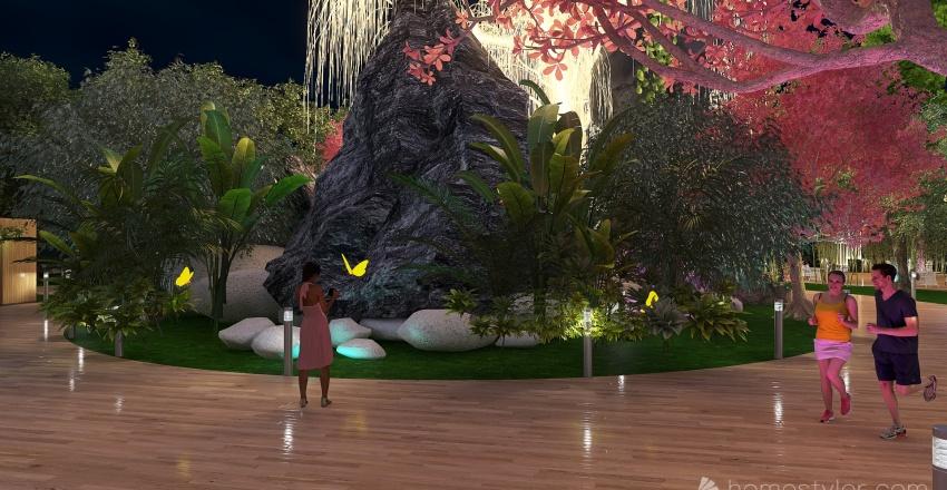 Park Avatar Interior Design Render