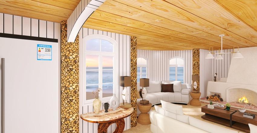 At the Seaside Interior Design Render