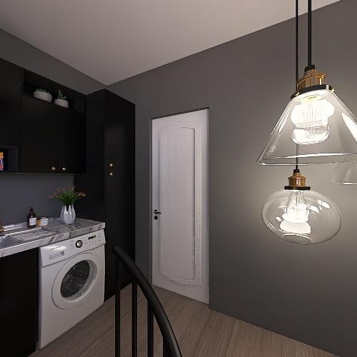 GREY Interior Design Render
