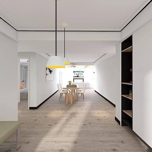 Copy of Rental Property Plan 3 Interior Design Render