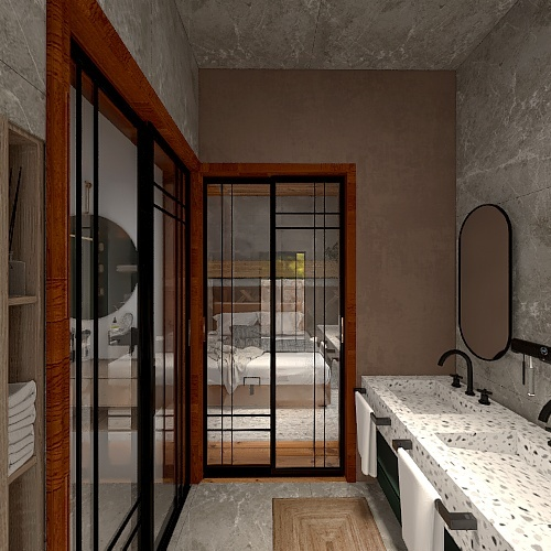 HOUSE 24: THE COUPLE HOUSE Interior Design Render
