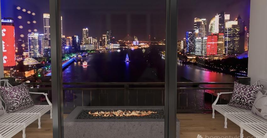 Apartment P Interior Design Render
