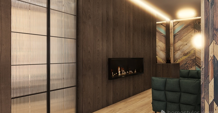 Wooden Life (in the process of creation) Interior Design Render