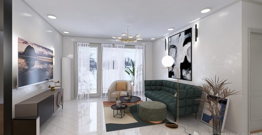 2021-2_공간보기공간풀기_5주차과제_KimJiHyun Interior Design Render