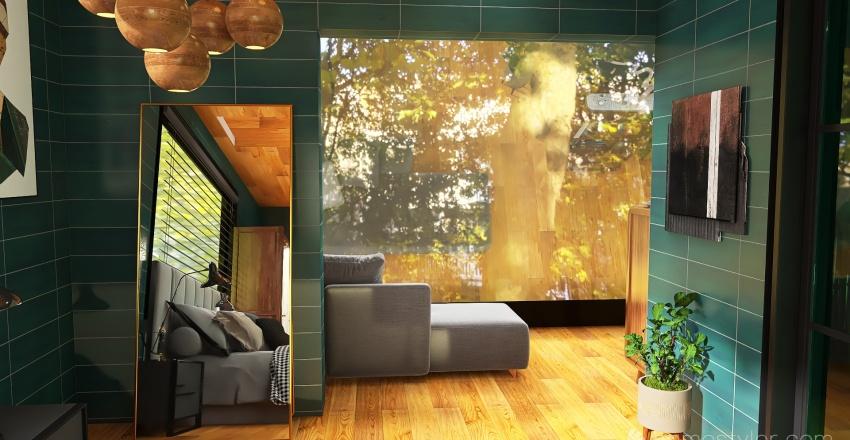 triangle forest Interior Design Render