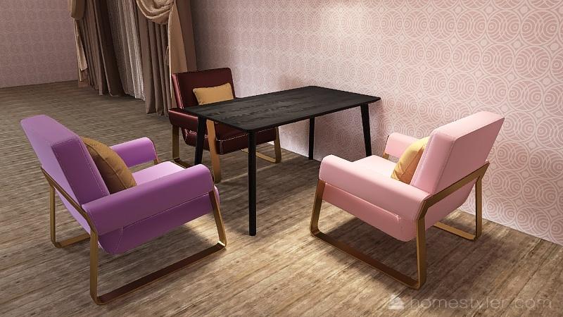 House for the R family! Interior Design Render