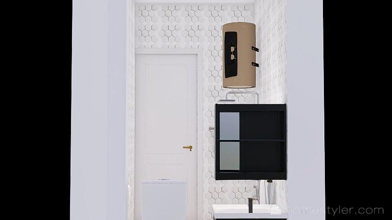 Copy of BathroomVarna Interior Design Render