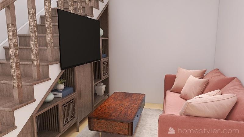 Family House! Interior Design Render
