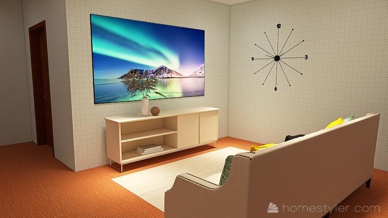 House made for Sadie. Interior Design Render