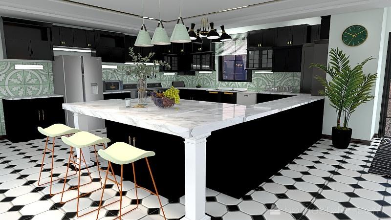Kitchen Project Interior Design Render