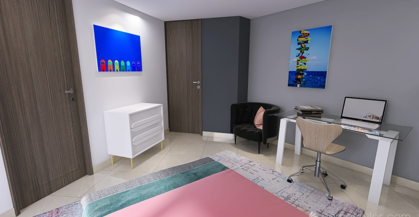 Carl Cruz Interior Design Render