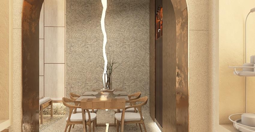 Presidential Suite HOTEL RIVER Interior Design Render