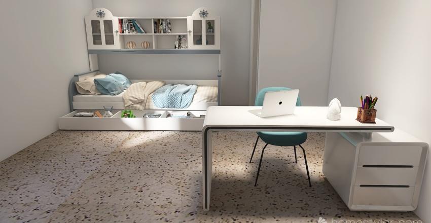 Via Mecenate,5 Milano Interior Design Render